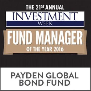 The 21st Annual Investmetn Week Fund Manager of the Year 2016